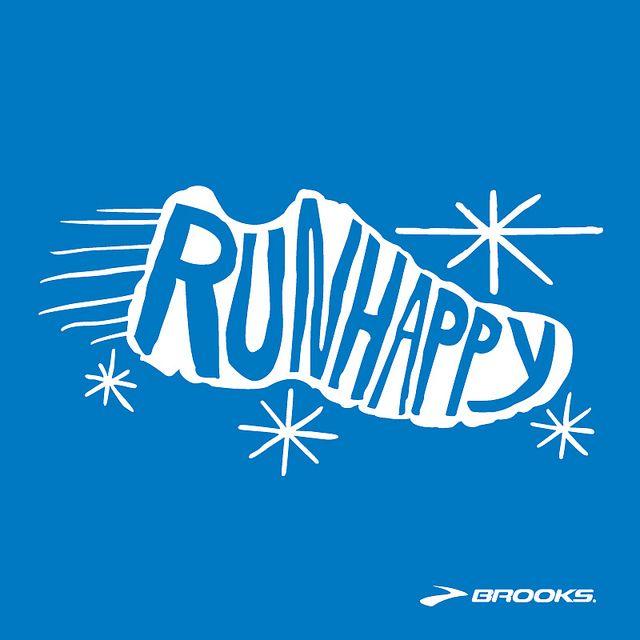 Run Happy by brooksrunning, via Flickr
