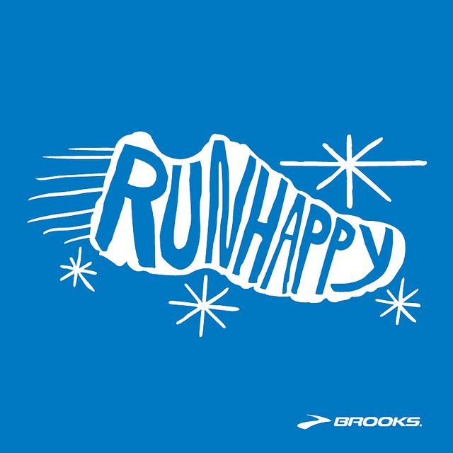 Run Happy by brooksrunning, via Flickr