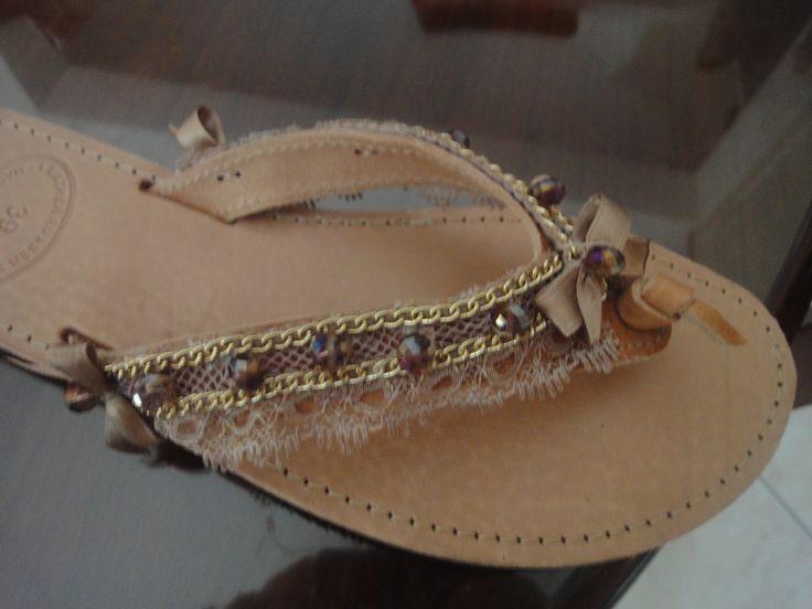 hand made sandal's