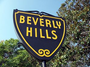 BEVERLY HILLS-HOLLYWOOD-LOS ANGELES-USA - cover