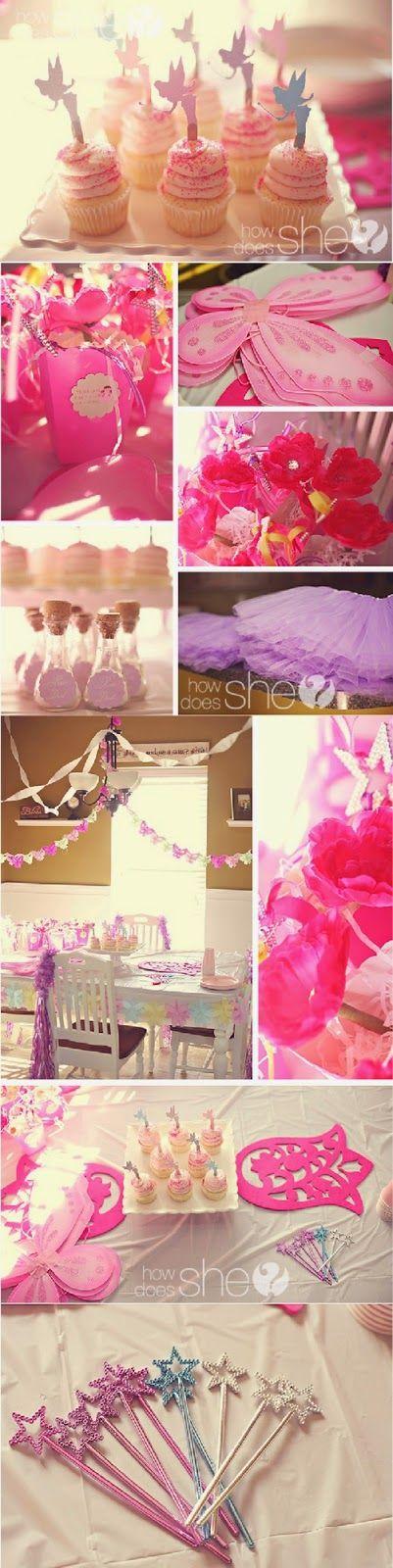 Fairy Princess first birthday theme