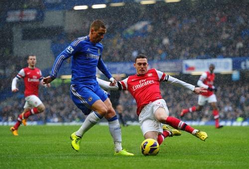 Chelsea vs Arsenal: 2 - 1. Vermaelen and Torres.