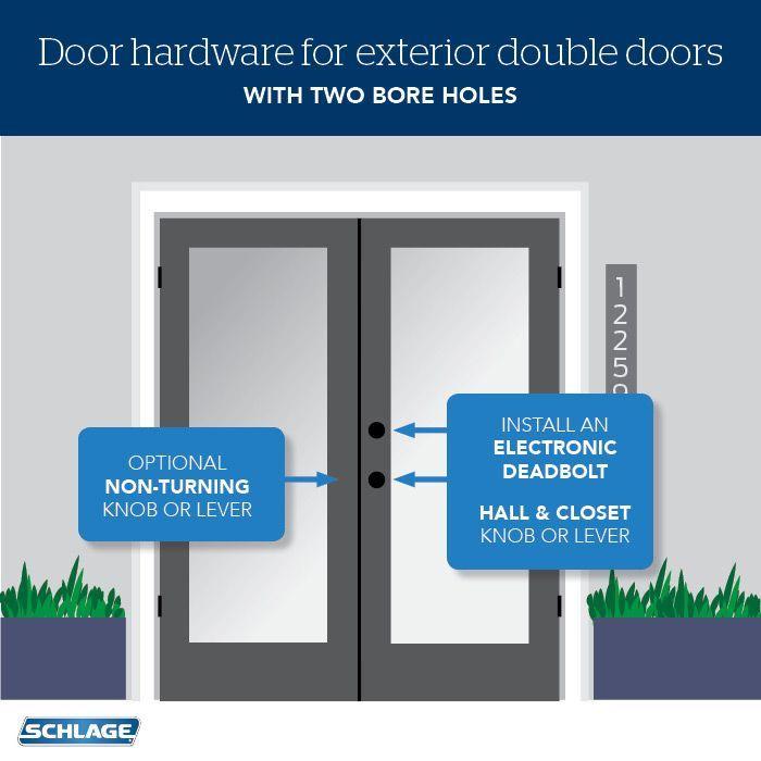 How To Choose Door Locks For French Doors Exterior Door Hardware Front Door Hardware Front Door Locks
