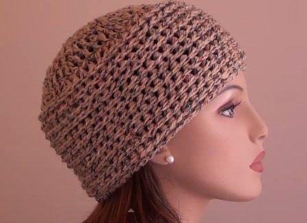 Gorro O Sombrero Tejido En Crochet Estilo Ruso 5992940360c