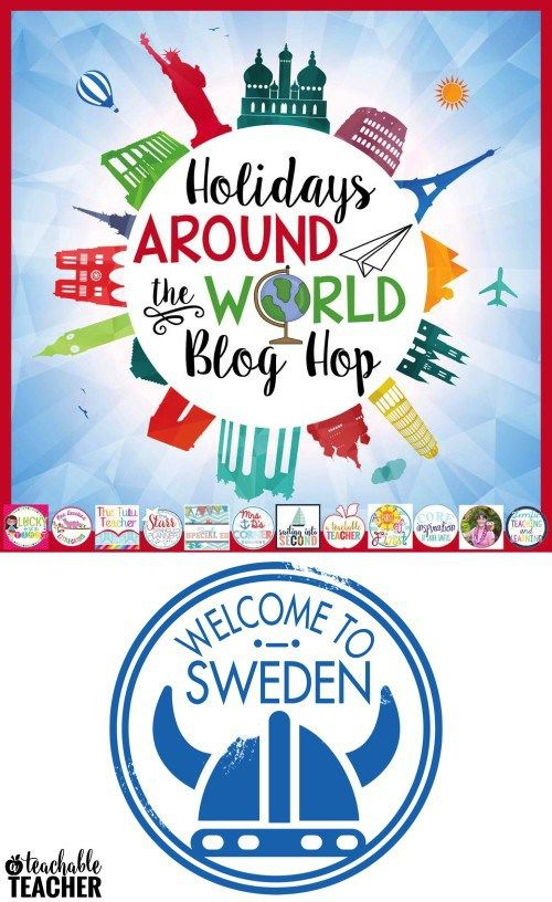 Holidays Around the World: Christmas in Sweden | A Teachable Teacher