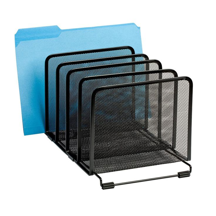 mesh letter tray mail sorter document desk office file organizer paper holder - Desk Organizer Tray