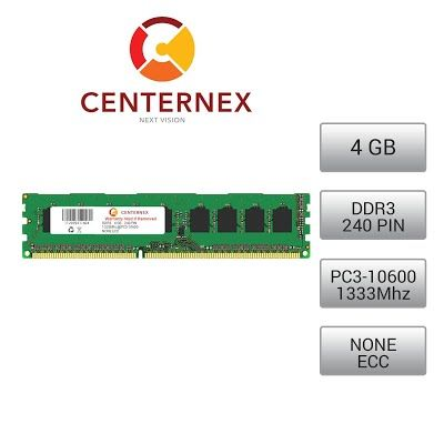4GB RAM Memory for IBMLenovo IdeaCentre K330B (DDR310600 NonECC) Desktop Memory Upgrade from CENTERNEX