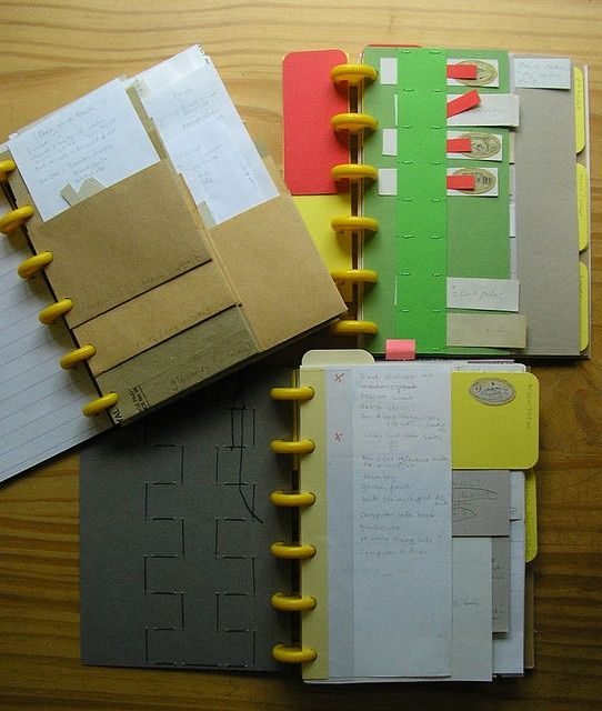 Calendar Binding Ideas : Best disc bound notebook journals images on pinterest