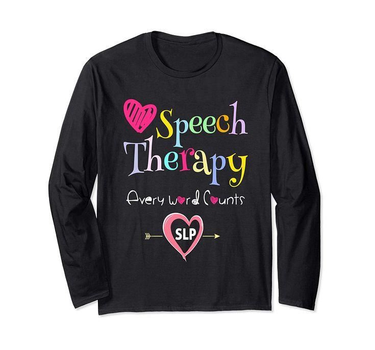 SLP Shirts Speech Language Pathologist Gifts Speech