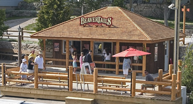Beavertails on Little Tub Harbour, Tobermory.