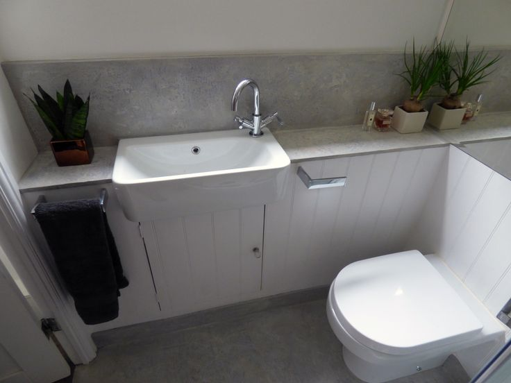 micro-cement shower room in Pearl