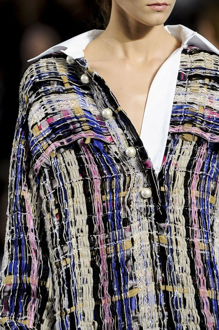 """Chanel ss 2013 - the """"new"""" """"tweed"""" ...."""