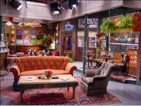 Inside Central Perk Nice Color Wolfe 39 S Lunch Web