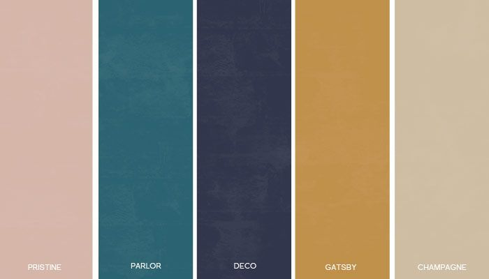 art deco colors - Google Search -- blue Parlor color for fireplace to play up art deco furniture
