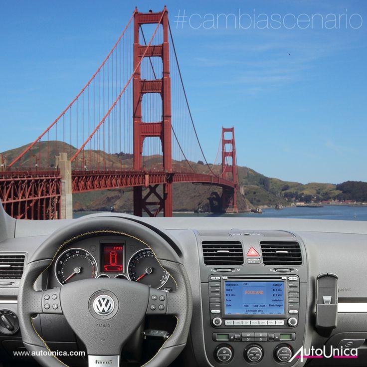 Golden Gate. Da San Francisco alla Contea di Marin. Raggiungi il piccolo centro costiero di Sausalito con un #autounica!