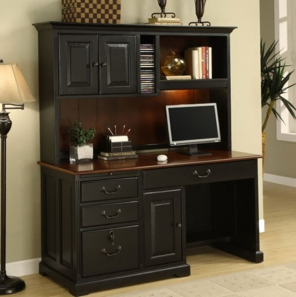 1000 ideas about Desk With Hutch on Pinterest