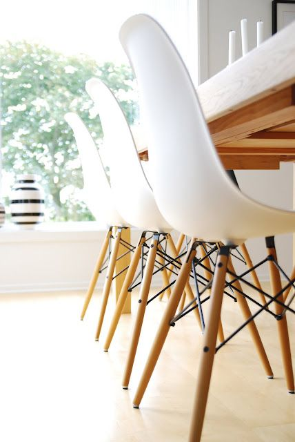 I need these white Eames chairs