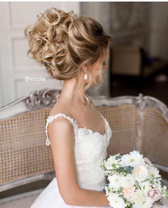 Elstile wedding updo hairstyle