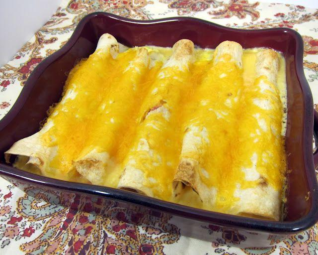 Quichiladas - Breakfast Enchiladas   Plain Chicken: Health Food, Breakfast Healthy, Healthy Breakfast, Healthy Eating, Breakfast Enchiladas, Quichilada, Plain Chicken, Yummy, Breakfast Food