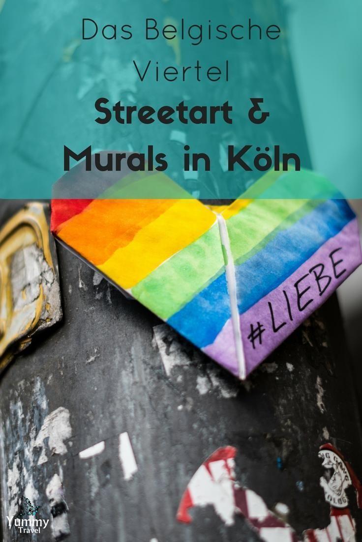Kln und ganz besonders Ehrenfeld und das belgische Viertel sind voll von auergewhnlicher Street Art. Ich nehme dich mit auf eine Reise zu beeindruckenden Kunstwerken!