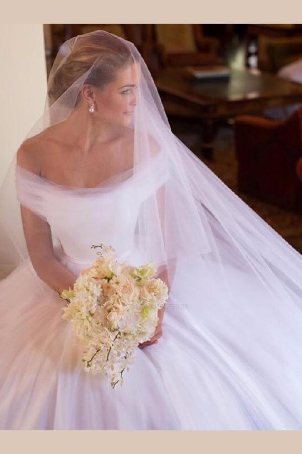 Distinct White Brautkleider, Ballkleid Brautkleider