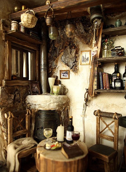 Inside A Witches Cottage Witch cottage Magical home Witch house