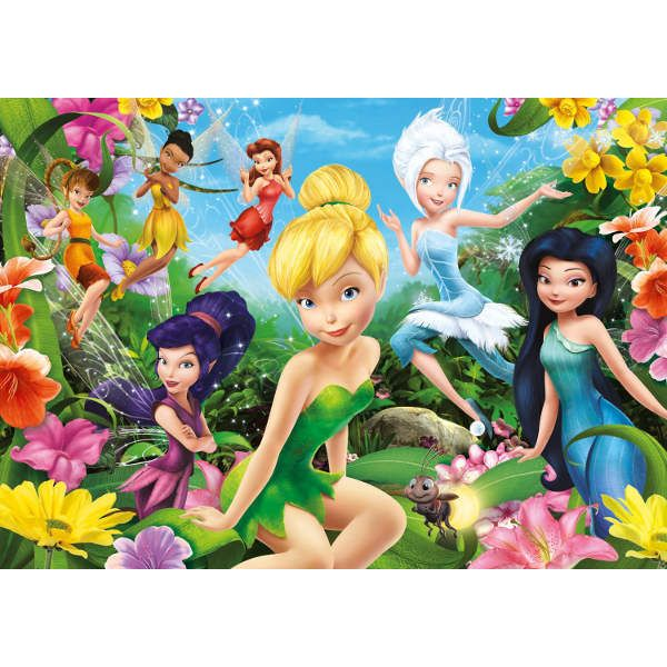 disney puzzle packs fairies | Disney Fairies - 104pc Jigsaw Puzzle from Jigsaw Puzzles Direct ...