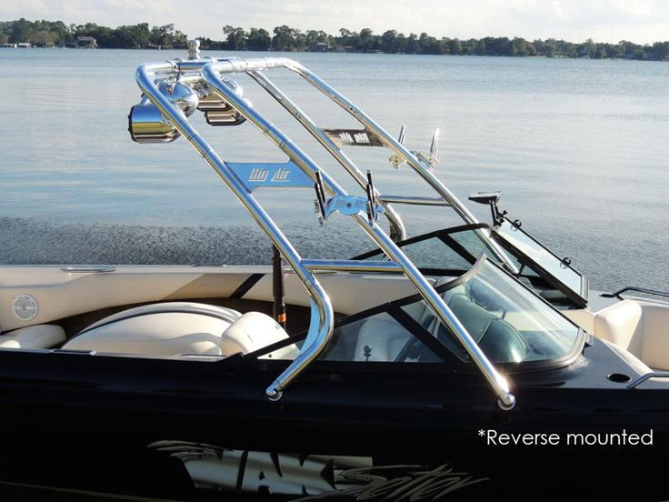 Big Air Cuda tower // universal wakeboard tower // Forward Swept Tower // boat tower // universal wakeboard tower // wakeboard towers for sale // boat wakeboard tower // boat towers for sale // cheap wakeboard tower // folding wakeboard tower // collapsible wakeboard tower // aluminum wakeboard tower //