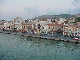 Chios Harbor, Greece