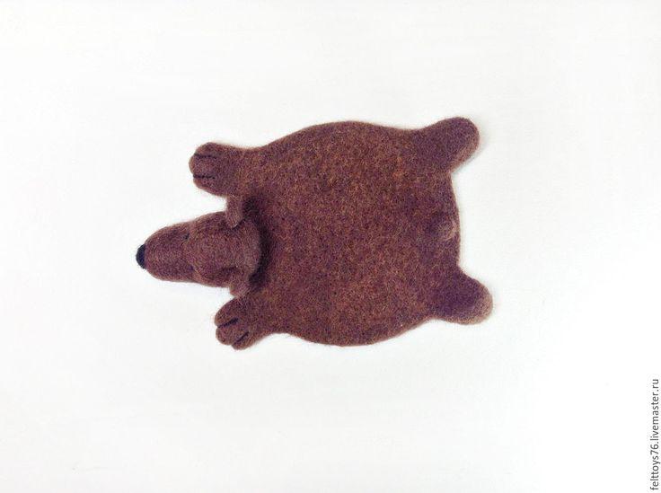 """Купить Подставка под чашку """"Медведь Стёпа"""" - подарок на любой случай, подставка"""