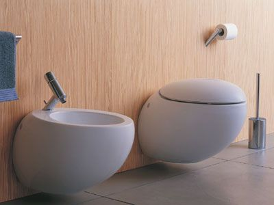A unique toilet. The Alessi bathroom hardware unites feminine roundness, salient masculine lines and childlike spontaneity to form an emotional whole – a bathroom, in which you can get to know a completely new person.