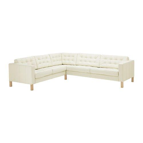 Karlsfors Corner Sofa 2 3 3 2 Tufted Grann White Ikea