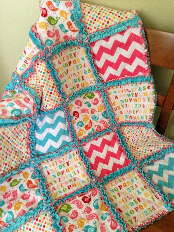 140 best Rag Quilts 2 images on Pinterest | Pointe shoes, Sewing ... : diy baby rag quilt - Adamdwight.com