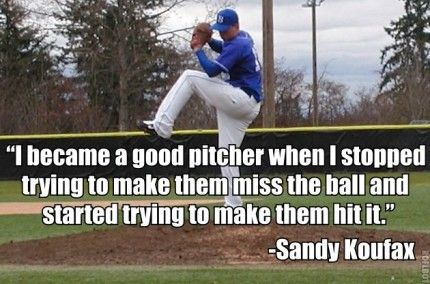 inspirational quotes about pitching baseball quotesgram