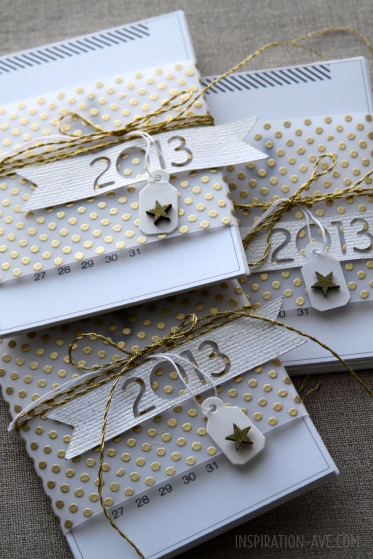 New Year's card inspiration from inspirationave.com