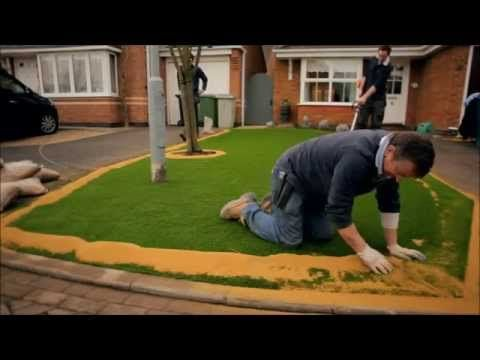 Bella Turf - How to properly install Artificial Grass - YouTube