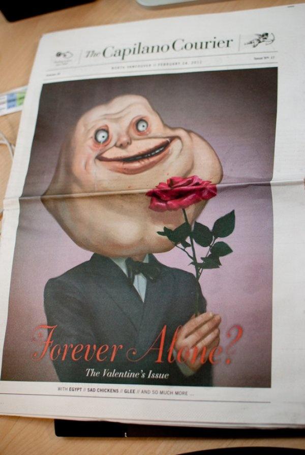funny valentine news