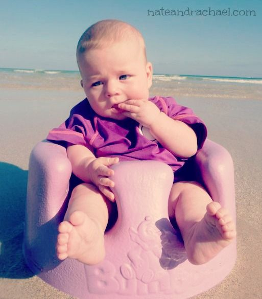 Baby Beach Bum--Tips for Taking Baby to the Beach.