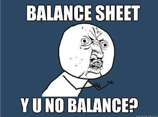 LOLL story of my life. Accounting students? This haunts you all!!