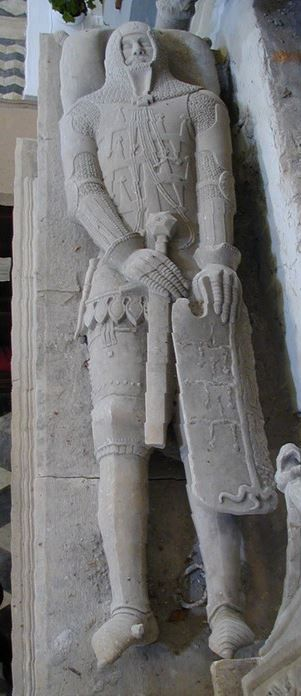 Galeotto Malaspina, XIV secolo, Fosdinovo (MS), Italia.