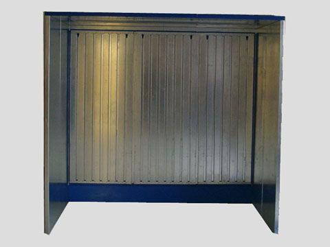 Podlahový odsávací box, odsávací kabina ST 1112