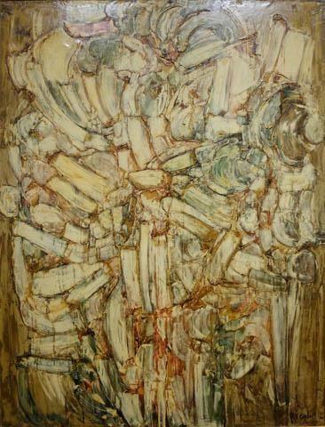 COMPOSITION 1961 - Roger-Edgar GILLET - Galerie Guigon