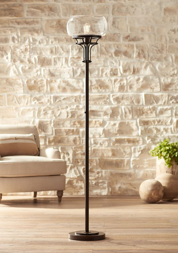 Home in 2020 Torchiere floor lamp, Farmhouse floor lamps