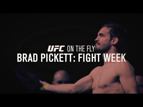 On the Fly: Fight Night London - Brad Pickett Fight Week