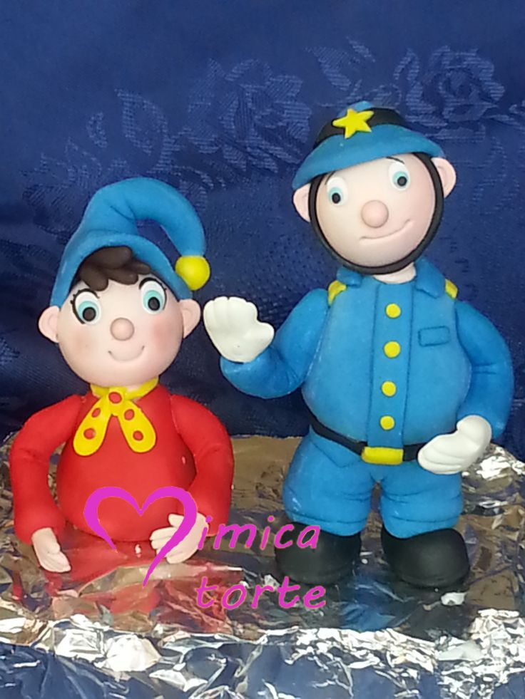 Noddy Cake Topper
