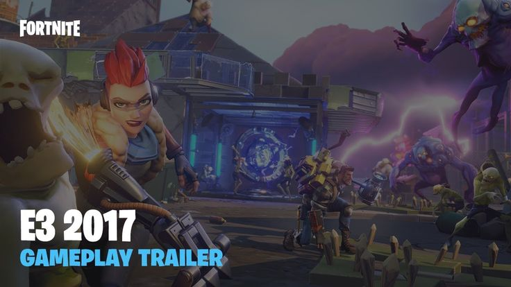 Fortnite - interesting action building survival game with Diablo-like RPG elements and with very unique style