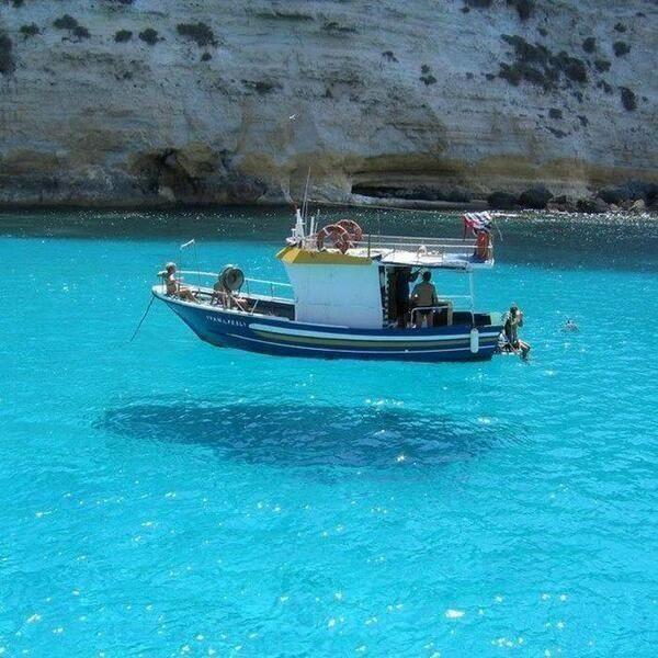 Lake in Greece,