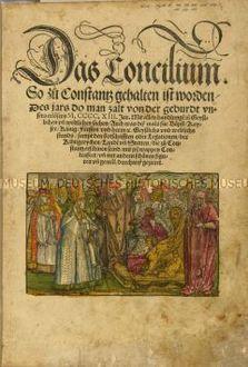 Richentals Chronik über das Konstanzer Konzil