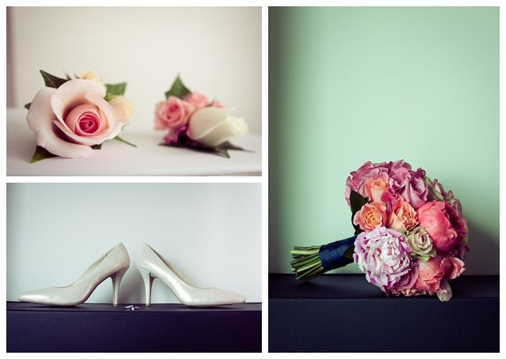 Bouquet and buttonholes by Willoughby Road Florist