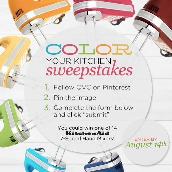 QVC/KitchenAid Contest